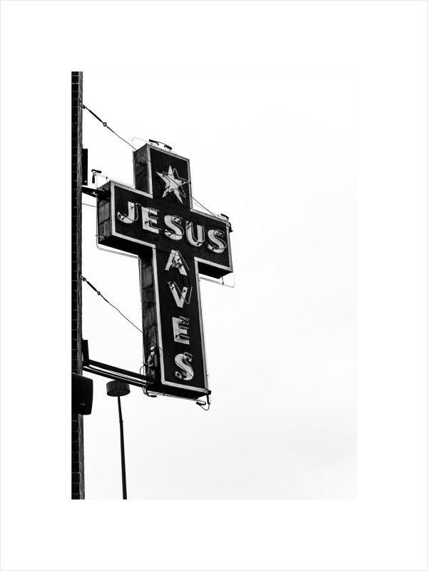Print - Jesus Saves